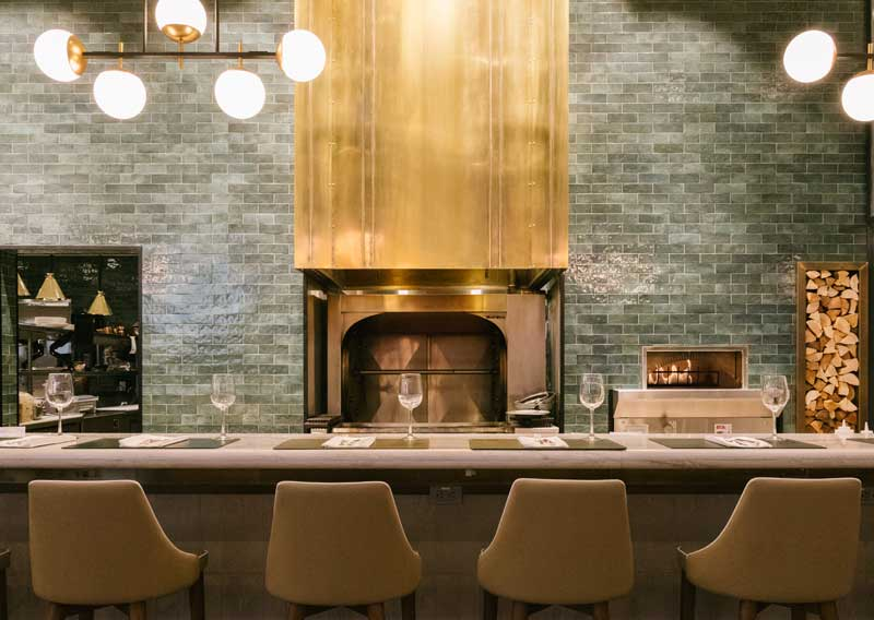 Flores + Pine   Calgary Restaurant Interior Design