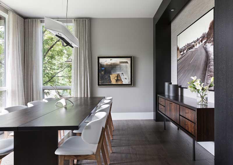 Stanley Park Residence | Calgary Residential Interior Design