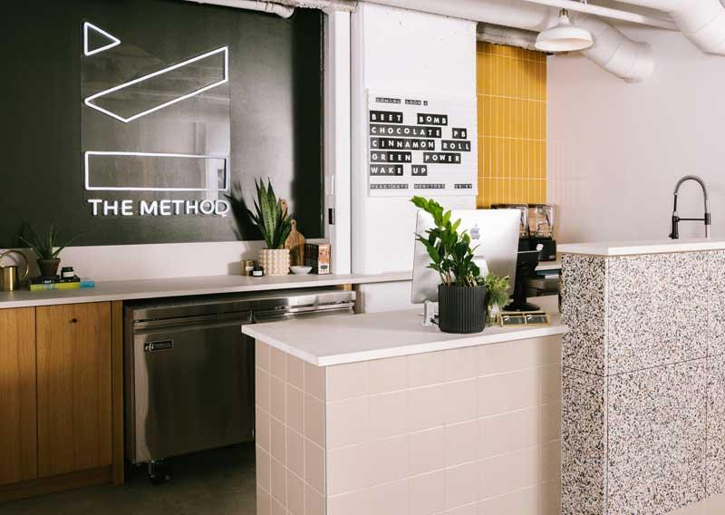 The Method   Calgary Health and Wellness Interior Design & Styling