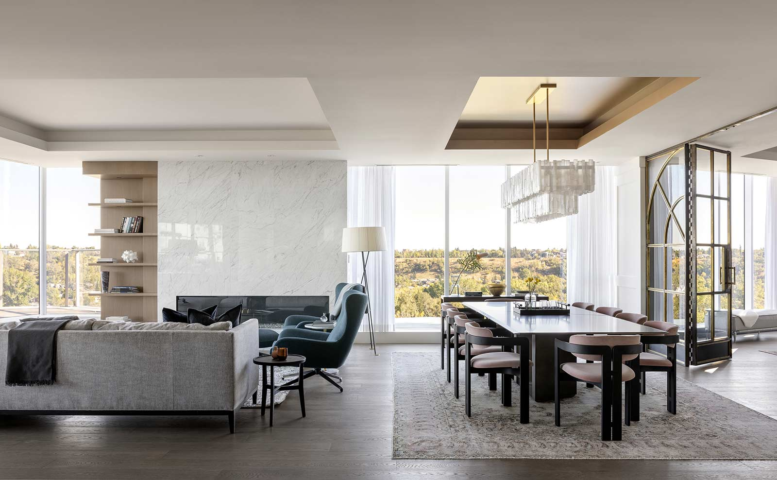 Concord Penthouse   Residential Interior Design