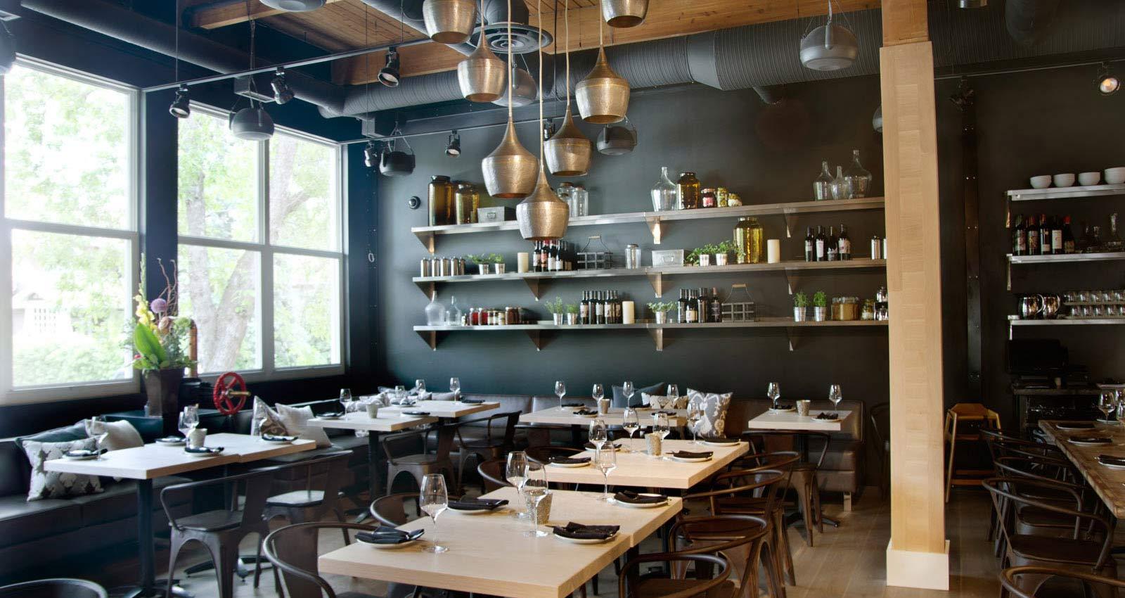80th + Ivy   Calgary Hospitality Interior Design   Restaurant Interior Design