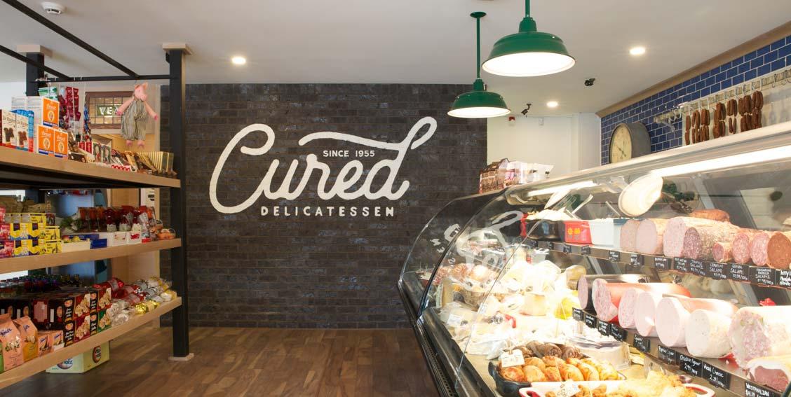 Cured Delicatessen | Retail Interior Design | Calgary