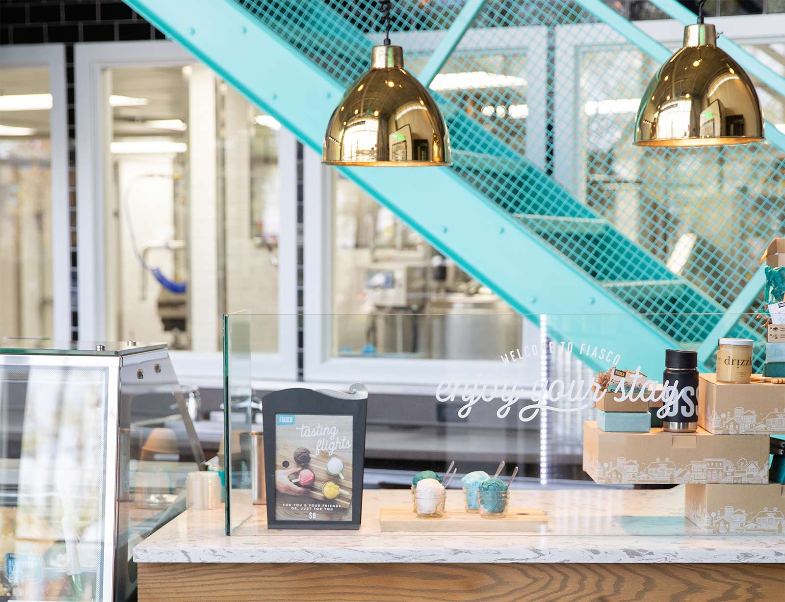 Righteous Gelato   Calgary Restaurant Interior Design