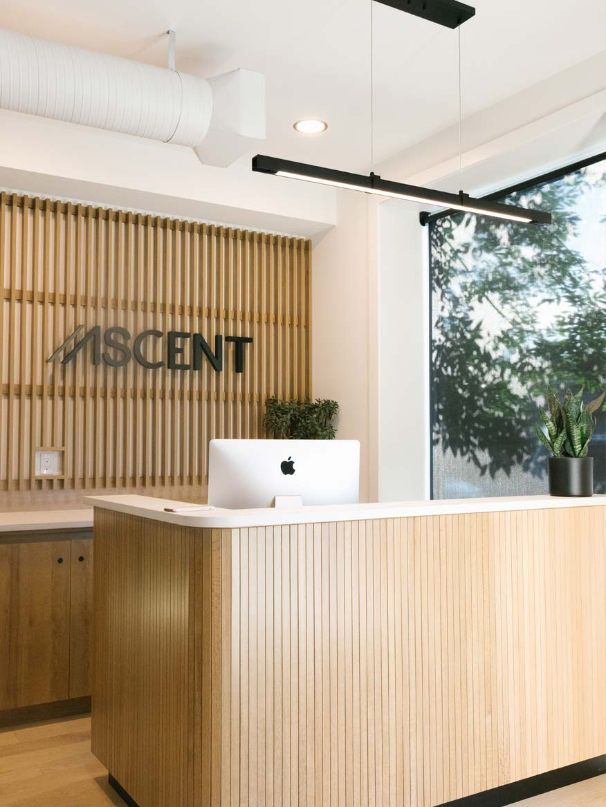 Commercial Interior Design | retail environments, health + wellness facilities, mixed-use and office spaces
