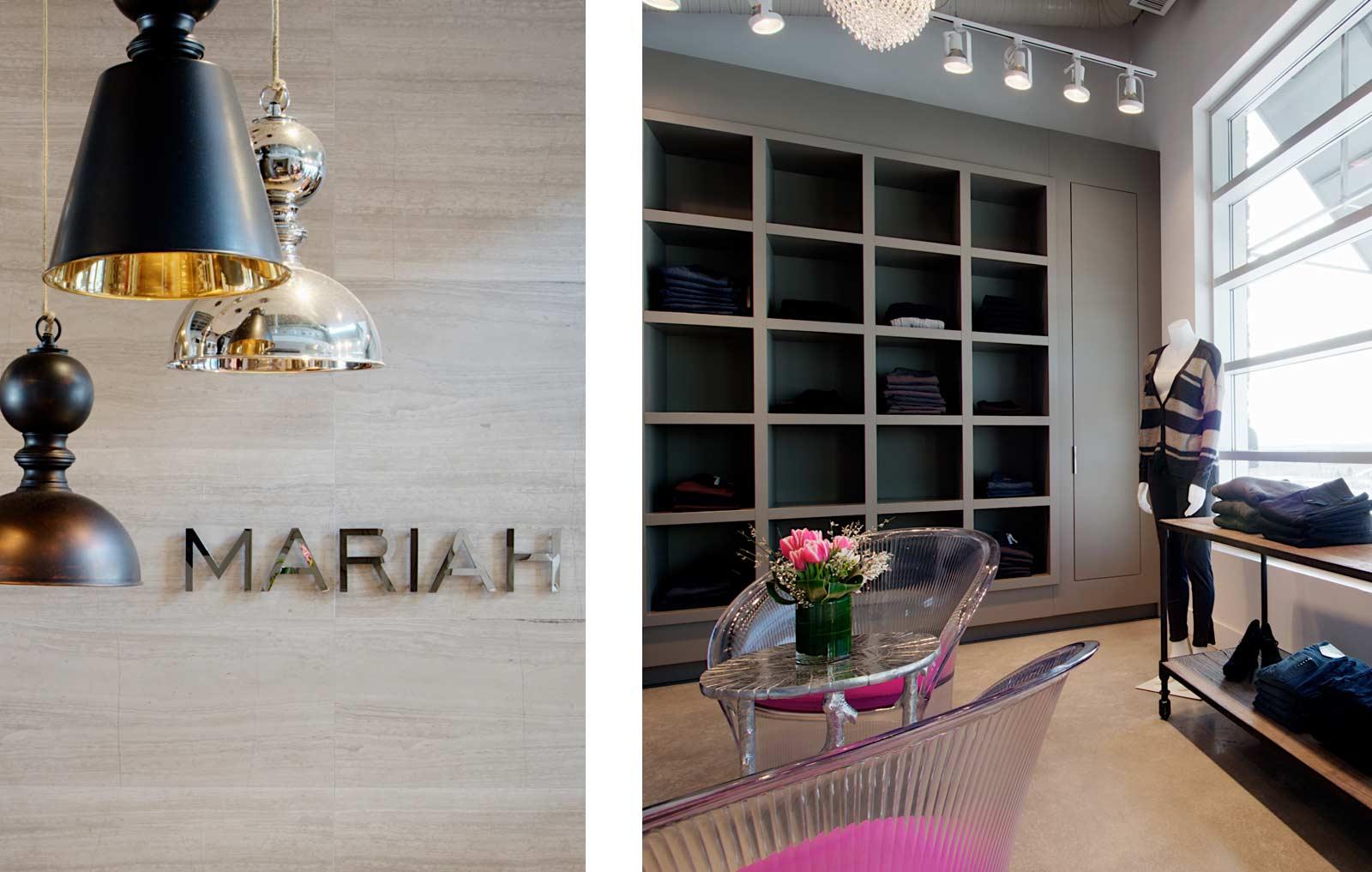 Mariah Clothing | Calgary Retail Interior Design