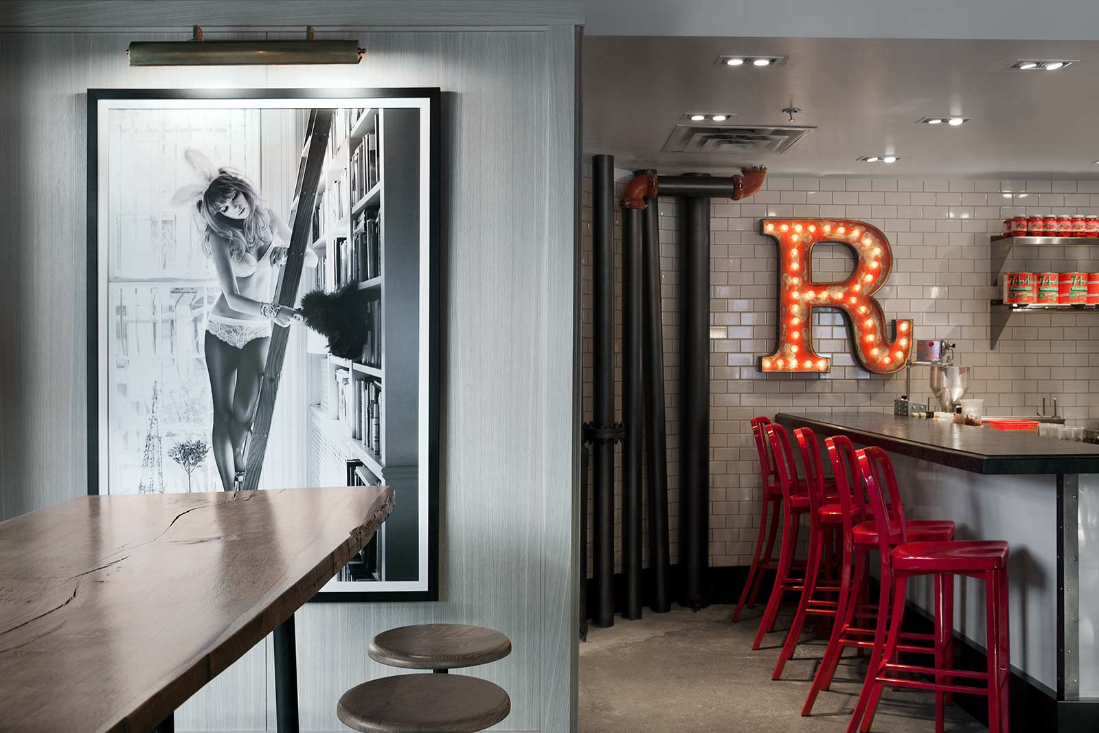Roosevelt Food + Drinks   Restaurant & Lounge Interior Design
