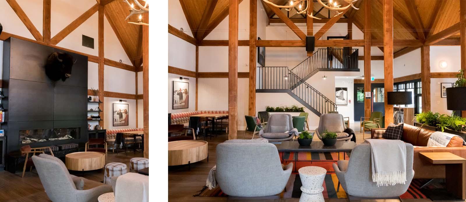 Buffalo Mountain Lodge | Banff Interior Design | Restaurant Interior Design